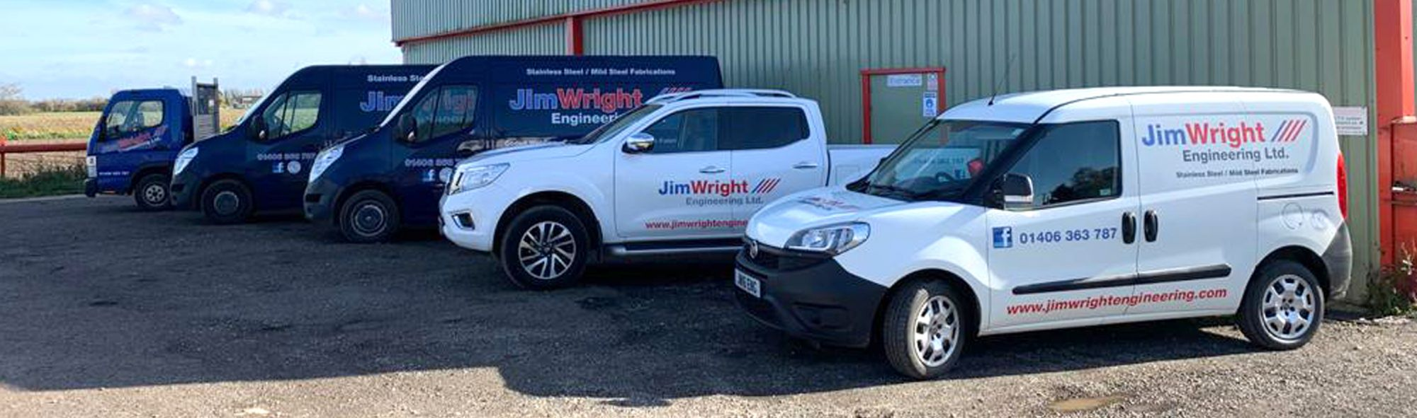 Jim Wright Engineering Vehicle Fleet
